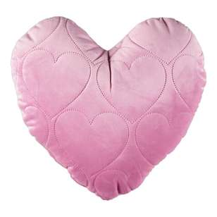 KOO Kids Velvet Heart Shaped Cushion