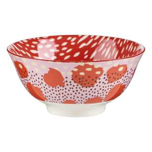 Cooper & Co Strawberry Fields Large Ceramic Bowl