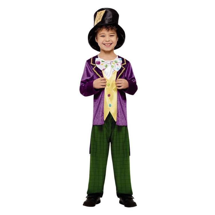 Roald Dahl Wonka Kids Costume