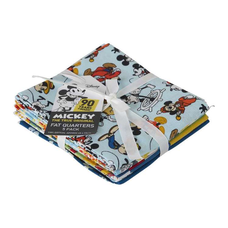 Mickey Fat Quarter Bundle 5 Pieces