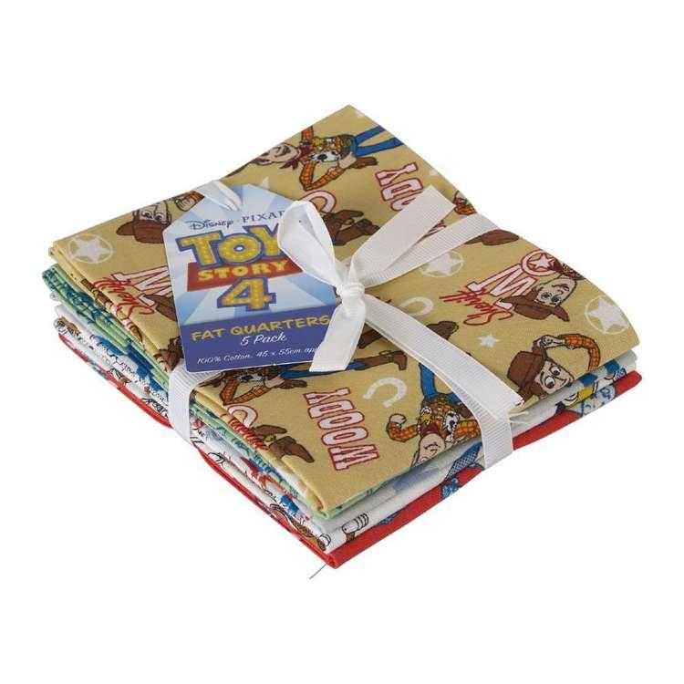 Toy Story 4 Fat Quarter Bundle 5 Pieces