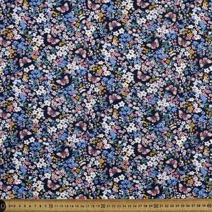 Butterfly Garden Printed Country Garden TC Fabric