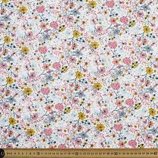 Full Floral Printed Country Garden TC Fabric