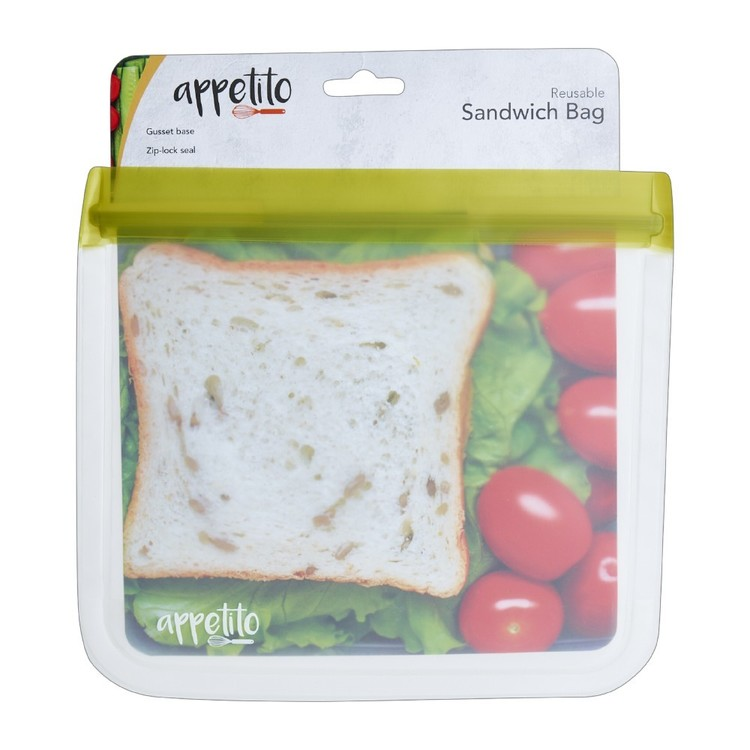 Appetito Reusable Sandwich Bag