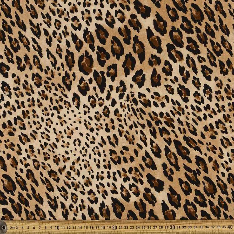 Classic Cheeta Printed Rayon Fabric