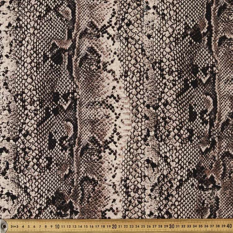 Classic Snake Printed Rayon Fabric