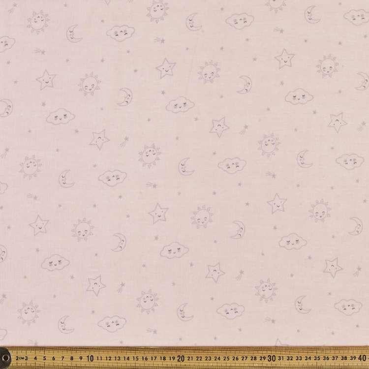 Twinkle Printed 138 cm Muslin Fabric