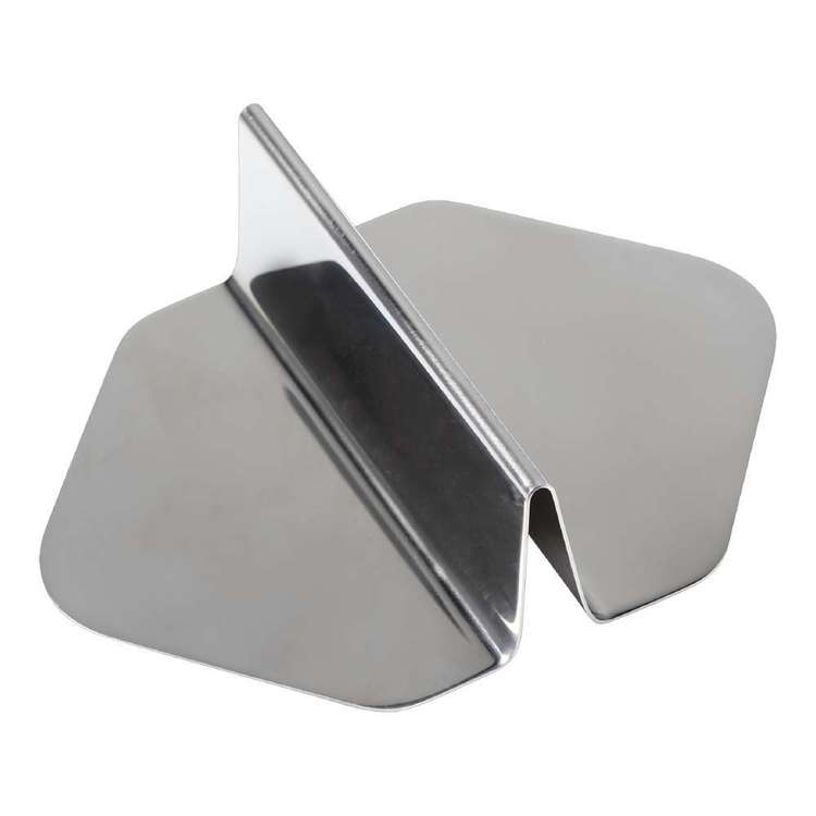 Appetito Stainless Steel Sandwich Guide Silver