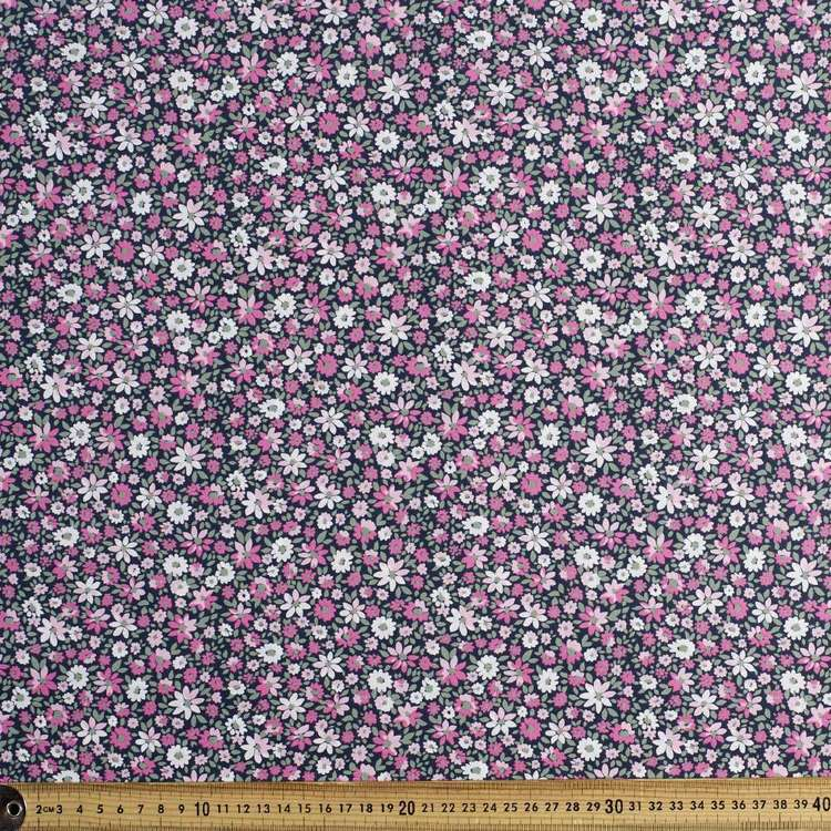 Daisy Bed Printed Country Garden TC Fabric