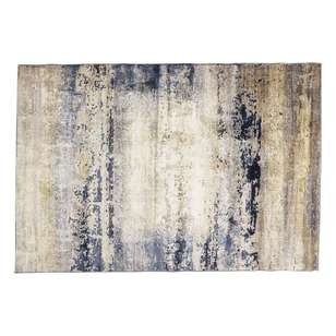 Heat Set Modern Culture Mottled Polypropylene Rug