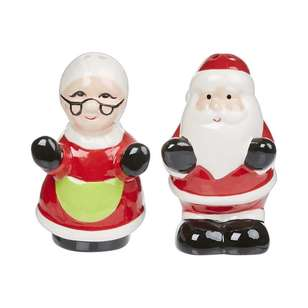 Kitch & Co Santa Salt & Pepper Shakers