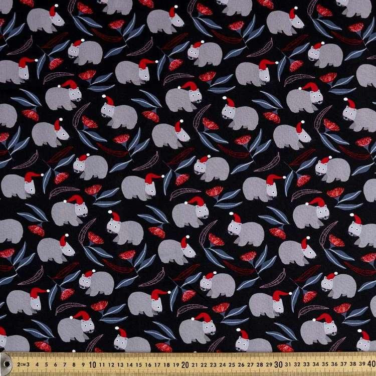 Jocelyn Proust Christmas Wombats Cotton Fabric