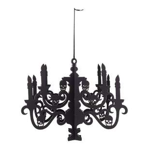 Spooky Hollow Black Pop Up Chandelier