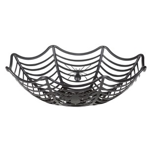 Spooky Hollow Spider Web Bowl