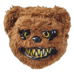 Spooky Hallow Bear Furry Friend Mask