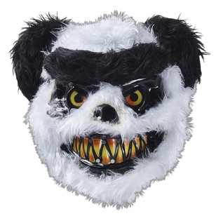 Spooky Hallow Panda Furry Friend Mask