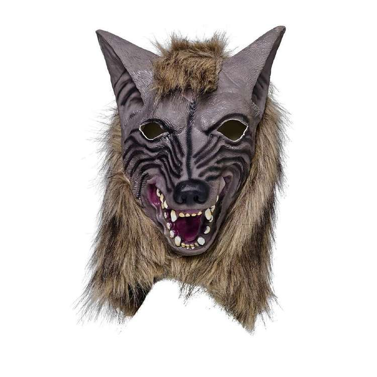 Spooky Hollow Latex Wolf Mask
