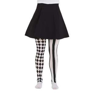Spooky Hollow Harlequin Spooky Tights