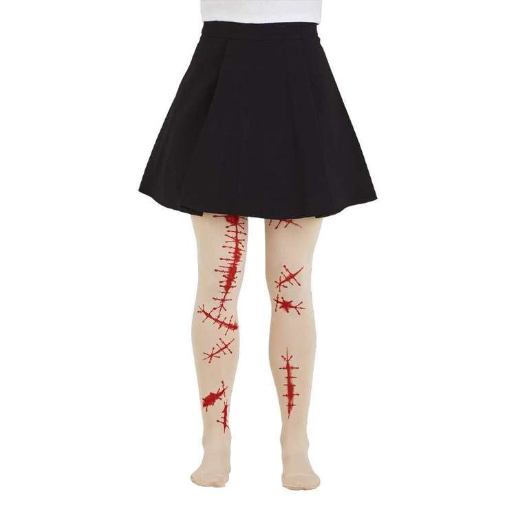 Spooky Hollow Spooky Cuts Tights