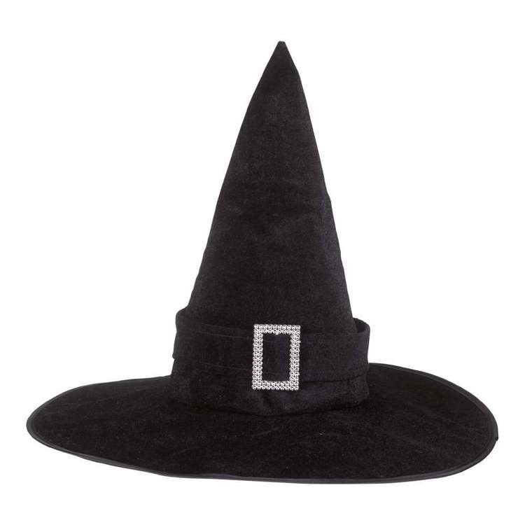 Spooky Hollow Witch Hat with Buckle