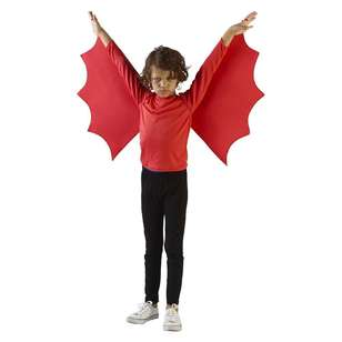 Spooky Hollow Devil Poncho Kids Costume
