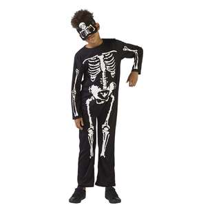 Spooky Hollow Skeleton Kids Costume