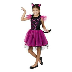 Spooky Hollow Miss Kitty Kids Costume
