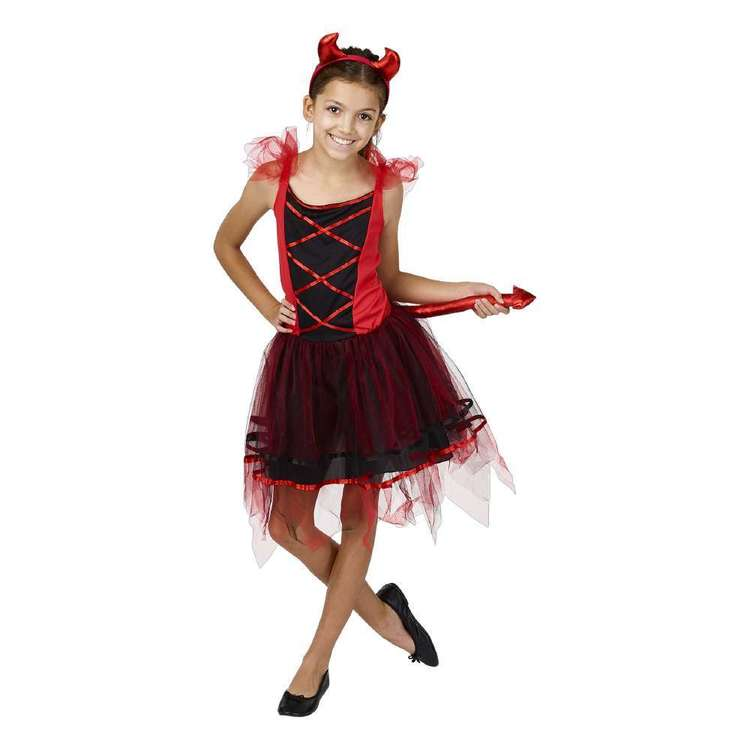 Spartys Devil Kids Costume
