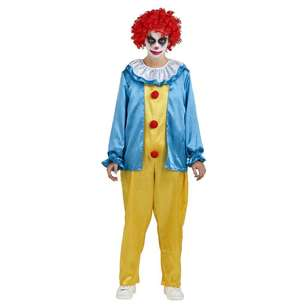 Spooky Hollow Clown Suit Adult Costume