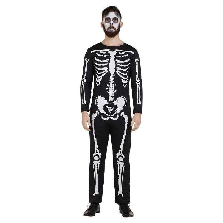 Spartys Skeleton Adult Costume