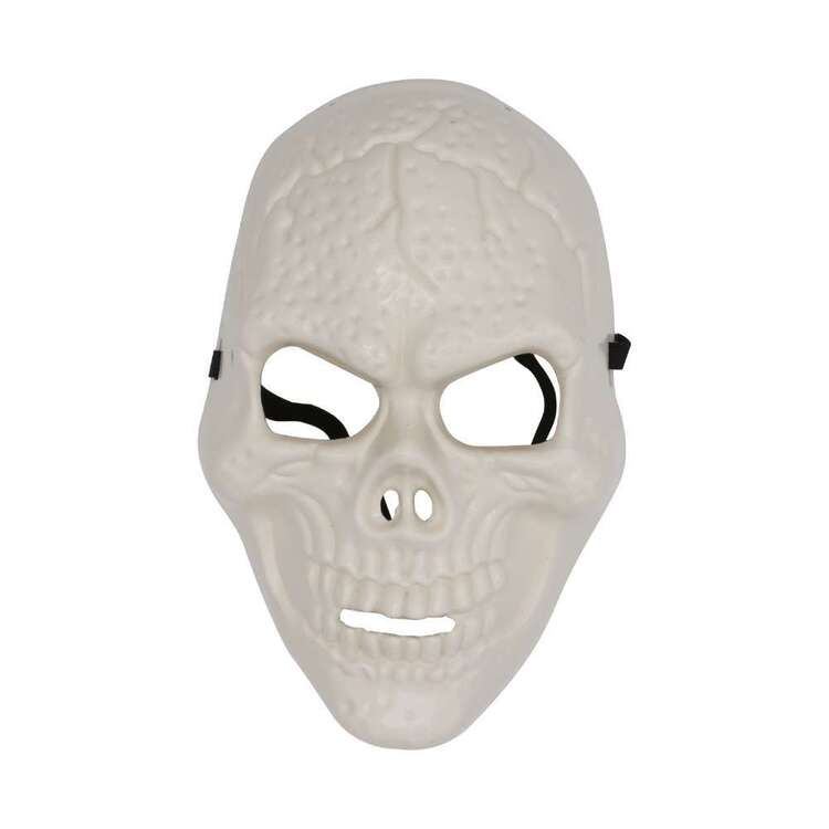 Spooky Hollow Plastic Skeleton Mask