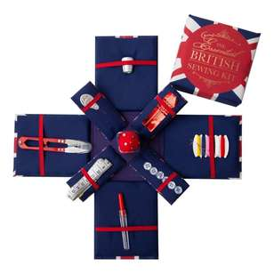 Expanding Sewing Kit Union Jack
