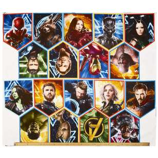 Marvel Avengers Cotton Panel
