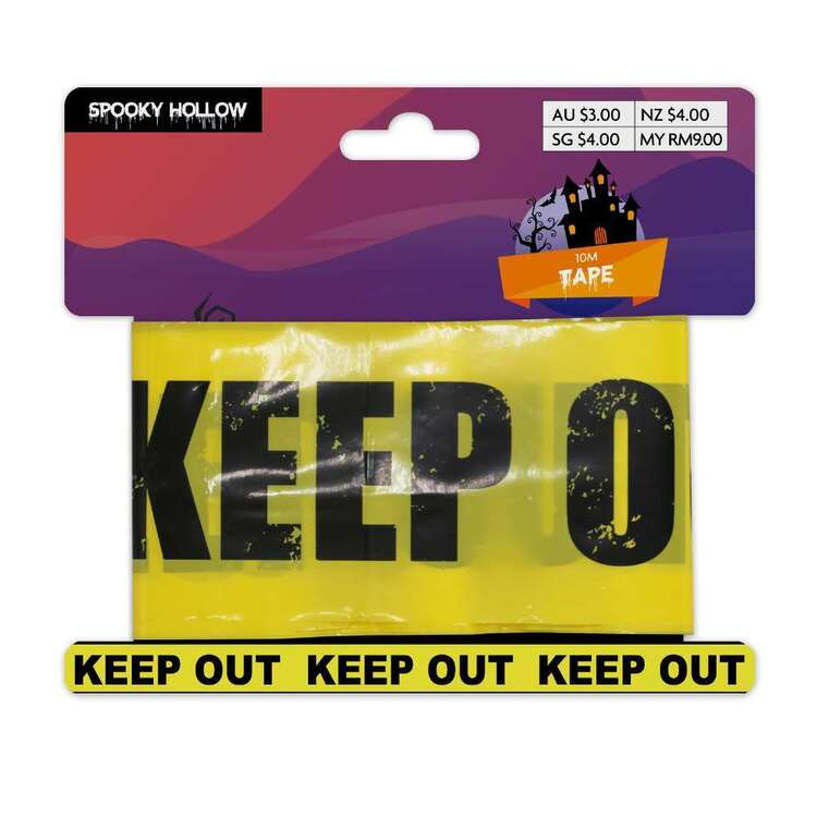Spooky Hollow Keep Out Tape
