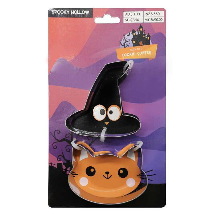 Spooky Hollow Cookie Cutter 2 Pack