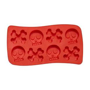 Spooky Hollow Skull Silicone Mould