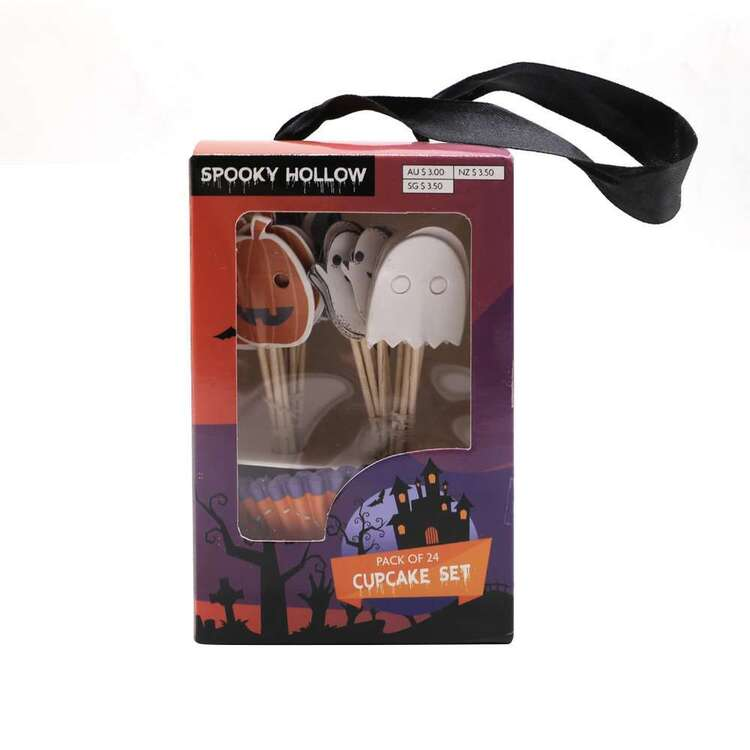 Spooky Hollow Cupcake Set 24 Pack