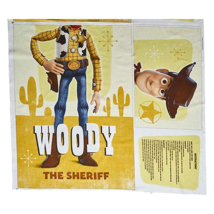 Disney Toy Story Woody Project Panel