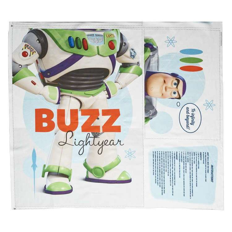 Disney Toy Story Buzz Project Panel Multicoloured 100 x 112 cm