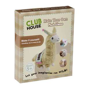 Club House DIY Plush Llama Kids Kit