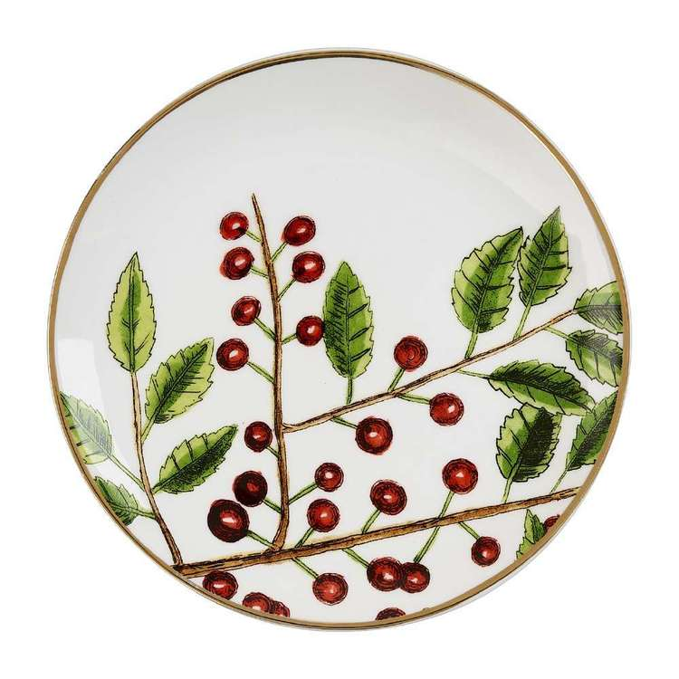 Culinary Co Holly Cake Plate
