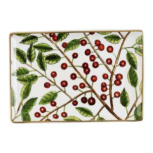 Culinary Co Holly Snack Plate
