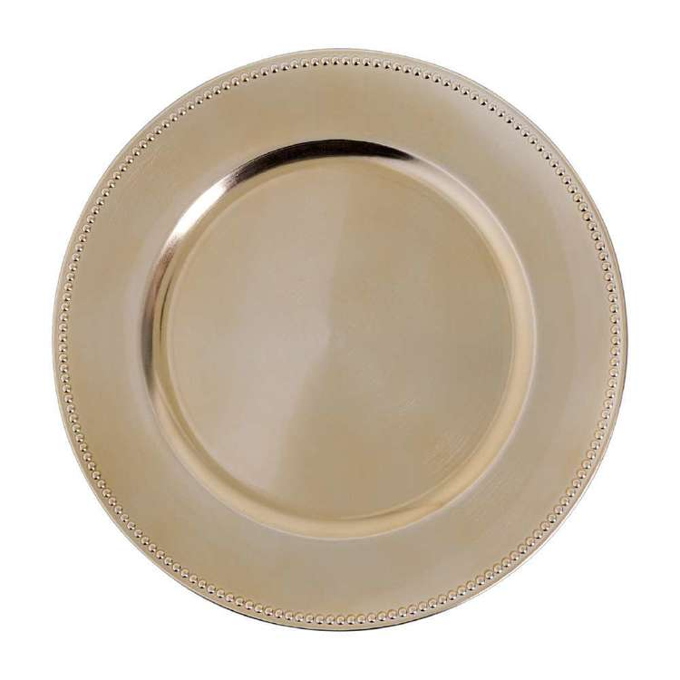 Living Space Festive 4 Pack Charger Plate