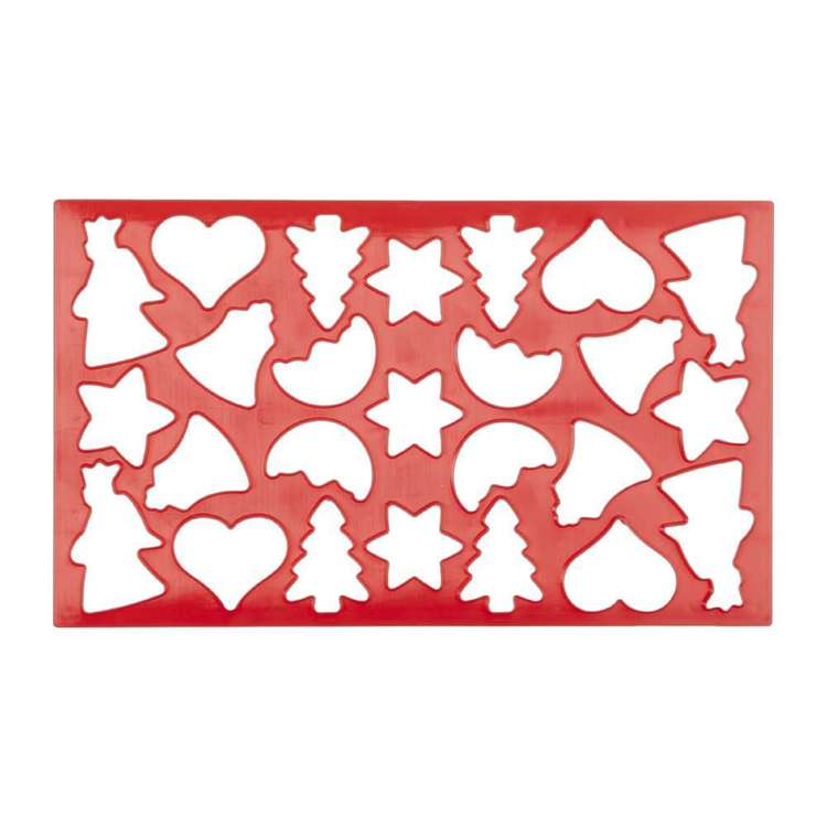 Culinary Co Cookie Cutter Sheet