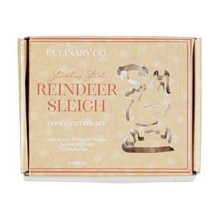 Culinary Co Reindeer & Sleigh Mould