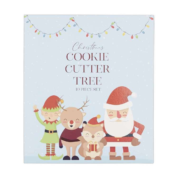 Culinary Co Tree Cookie Cutter Book