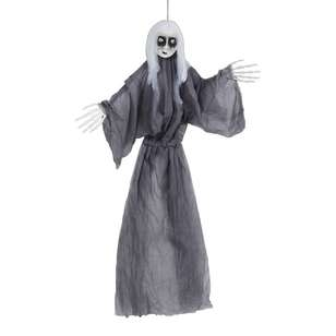 Spooky Hollow Doll Light and Sound Hanging Decoration