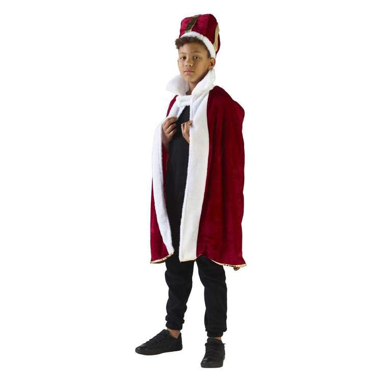 Spartys King Robe Kids Costume