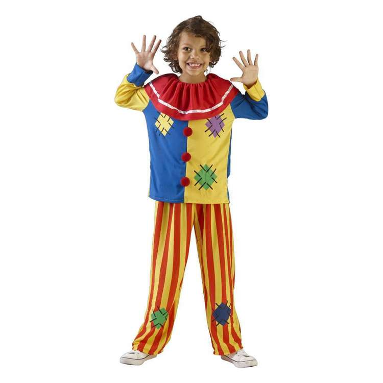 Spartys Clown Kids Costume