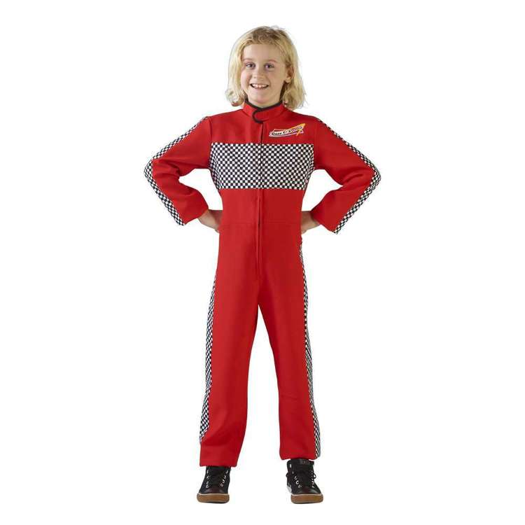 Spartys Racing Driver Kids Costume